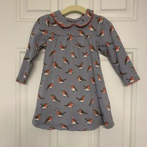 Boden Pretty Collar Robin Dress